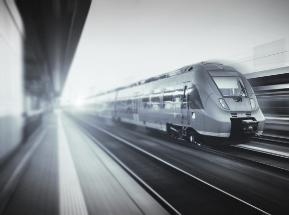 Investitionen in die Infrastruktur, das Energie- und Bahnwesen