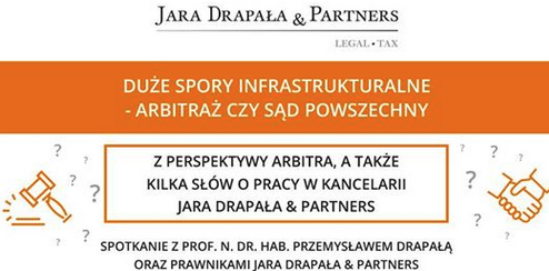 Spotkanie ze studentami UJ: Duże spory infrastrukturalne – arbitraż czy sąd powszechny?