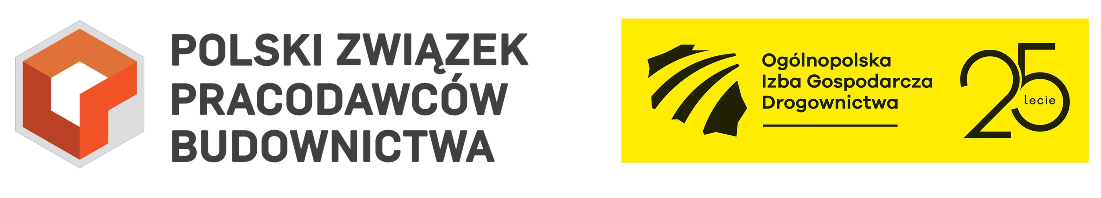 PZPB (Polski Związek Pracodawców Budownictwa), OIGD (Ogólnopolska Izba Gospodarcza Drogownictwa)