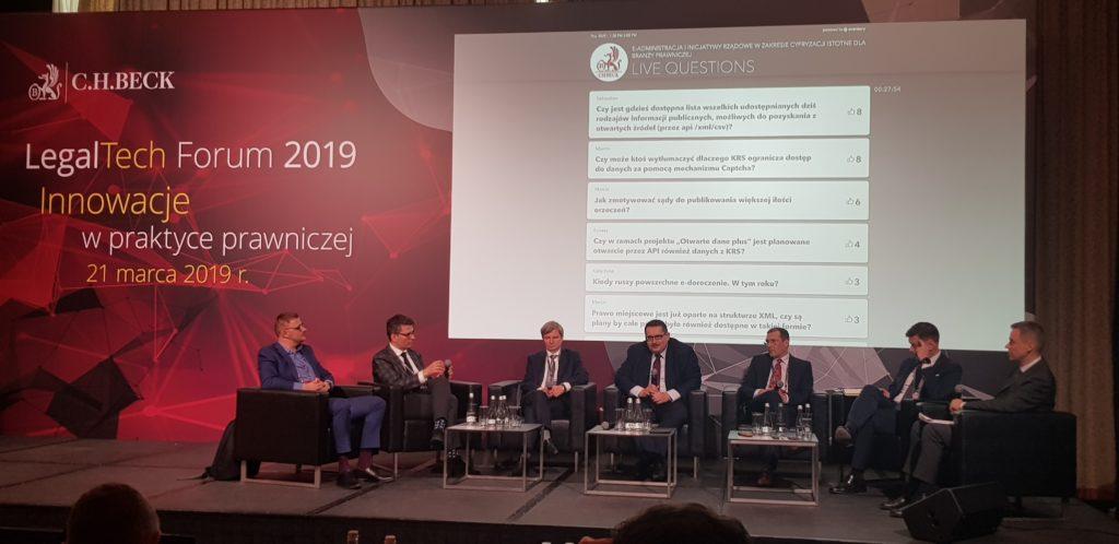Konferencja LegalTech Forum 2019