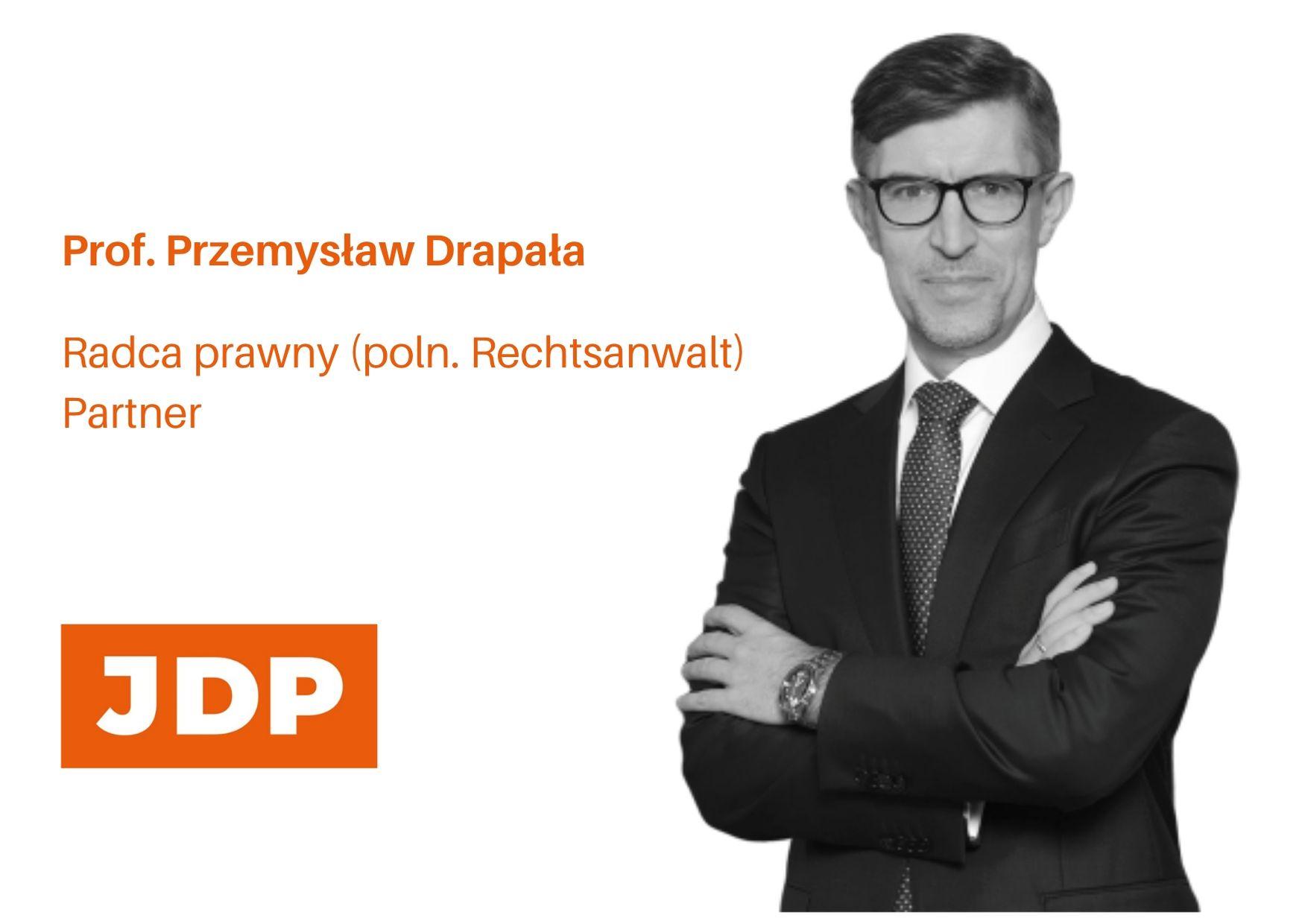 Prof. Przemysław Drapała wurde zum Mitglied des Vergabewesensrates gewählt