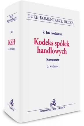 3. edycja komentarza do Kodeksu spółek handlowych
