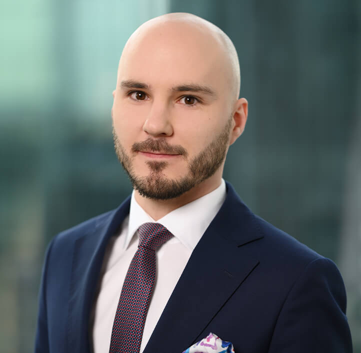 Krzysztof Bąk - Attorney-at-law, Associate