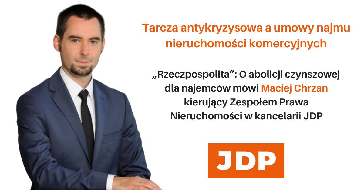 """Maciej Chrzan dla """"Rzeczpospolitej"""" o abolicji czynszowej dla najemców"""