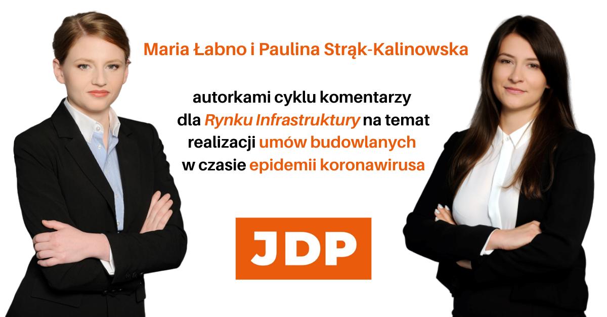Maria Łabno i Paulina Strąk-Kalinowska autorkami cyklu komentarzy dla Rynku Infrastruktury