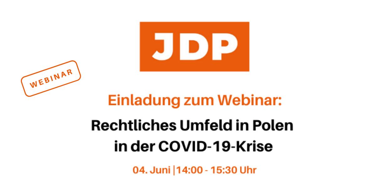 Webinar: Rechtliches Umfeld in Polen in der COVID-19-Krise